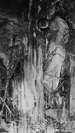 picture of Joan burning at the stake